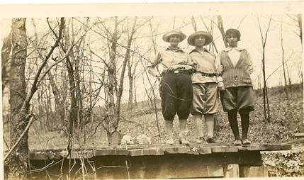 Taken at Rocky Glen May 2, 1926