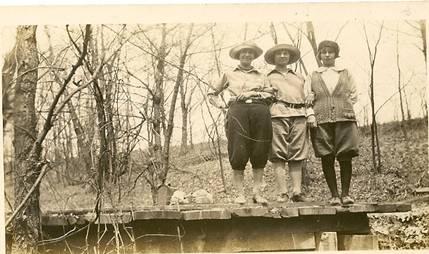 Taken at Rocky Glen May 2, 1926